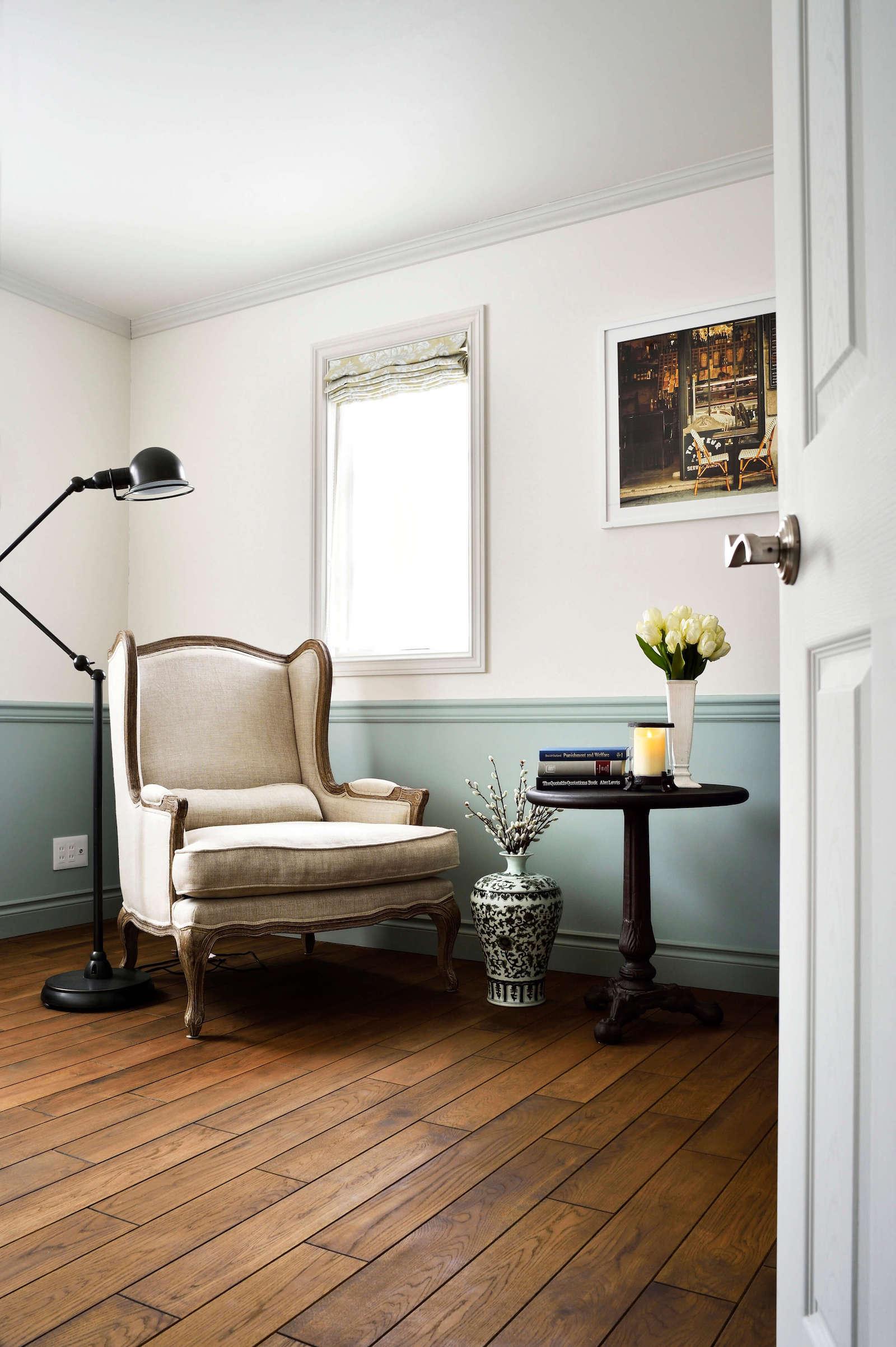 パリアパルトマンスタイルのガレージハウスの洋室